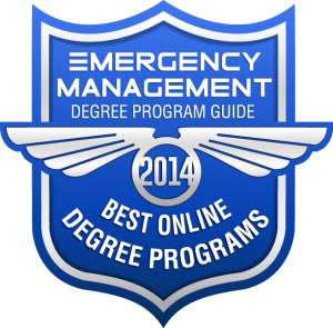 Badge - Emergency Management Degree Program Guide - Best Online