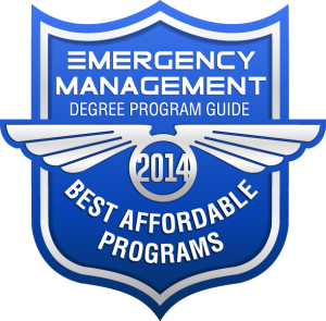 Badge - Emergency Management Degree Program Guide - Best Affordable