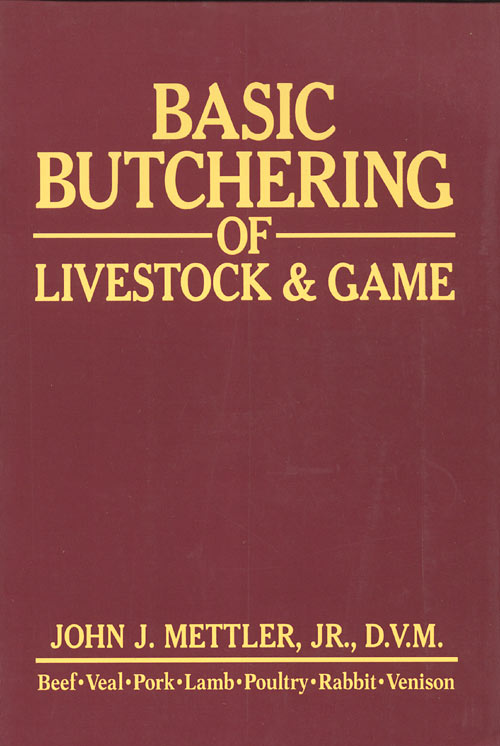45 great books for preppers 14 basic butchering of livestock game fandeluxe Image collections